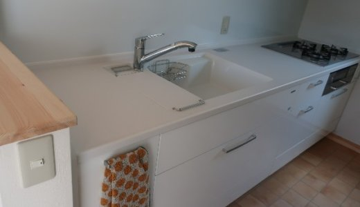 【web内覧会】キッチンは半クローズド&壁付けで個室みたいに♪